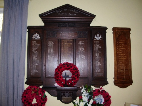 War Memorial Great Clifton Methodist Church