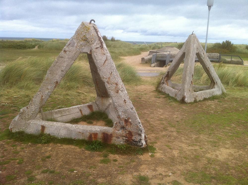 Tank Barriers Juno Beach