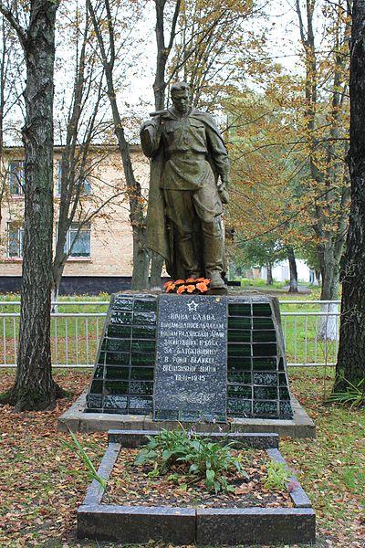 Mass Grave Soviet Soldiers Gayshin