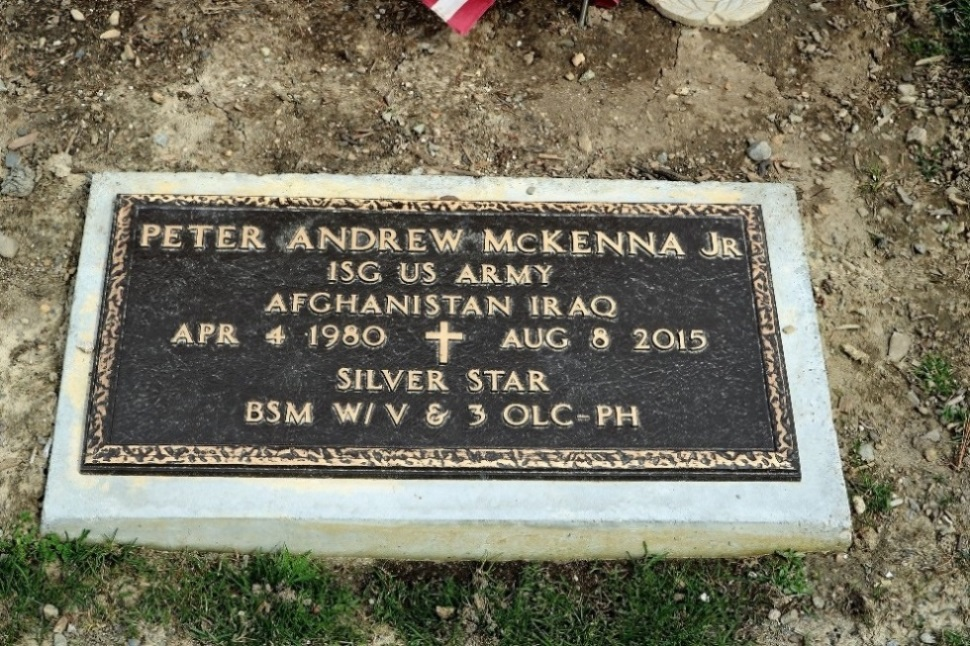 Amerikaanse Oorlogsgraven Saint Mary's Cemetery
