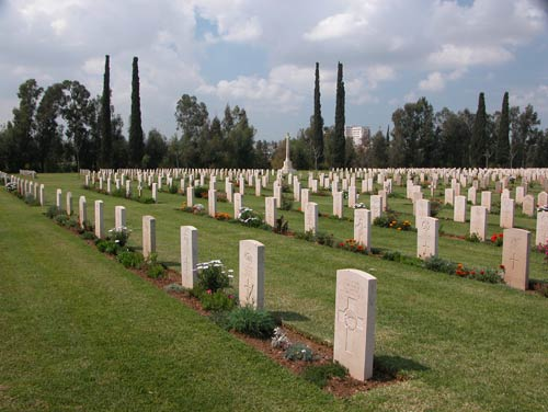 Commonwealth War Cemetery Ramleh