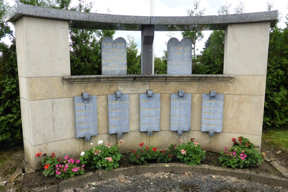 Memorial Israeli victims Municipal Cemetery Arlon