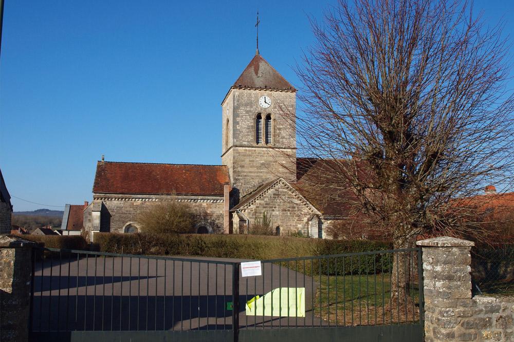 French War Grave Vandenesse-en-Auxois