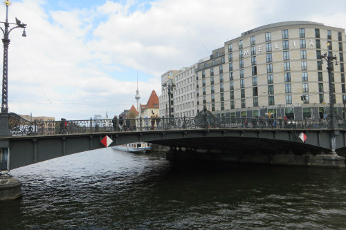 Weidendamm Brücke Berlijn