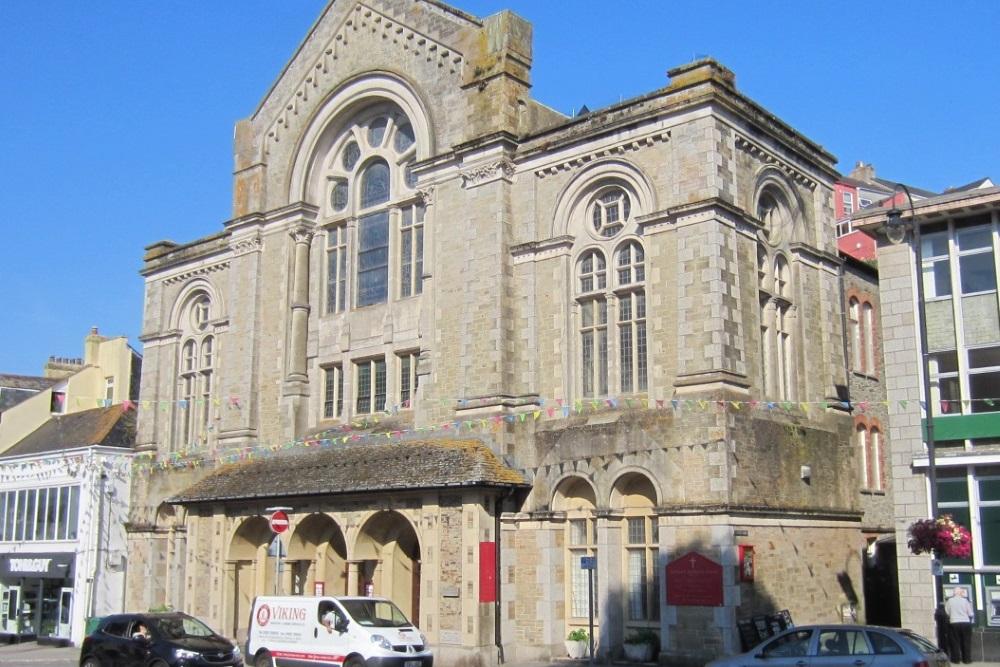 Plaque Methodist Church Falmouth