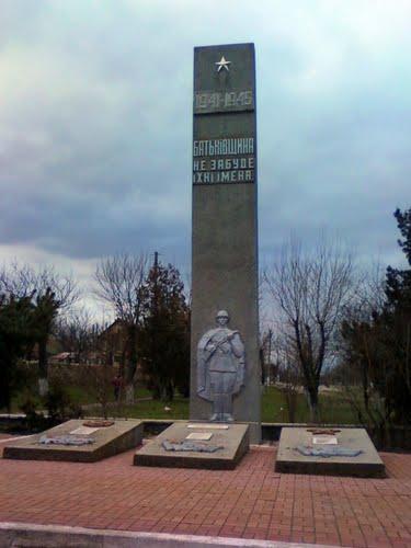 Massagraf Sovjet Soldaten Matveeka