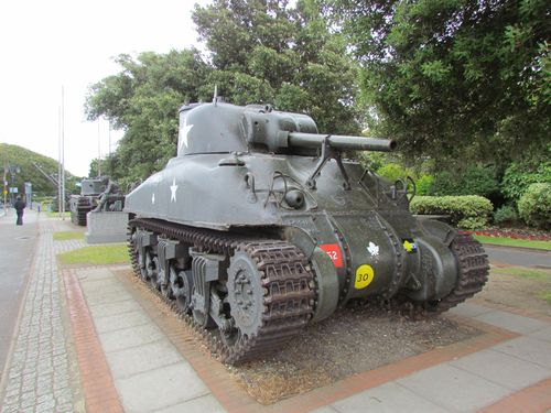 M4A1(75) Grizzly Tank Portsmouth