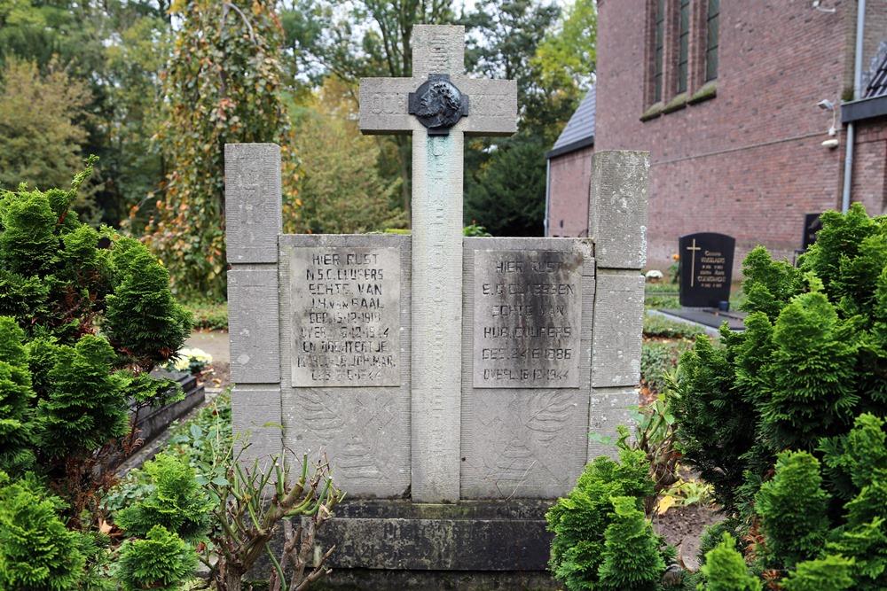 Graven Burgerslachtoffers Rooms Katholieke Begraafplaats Horn