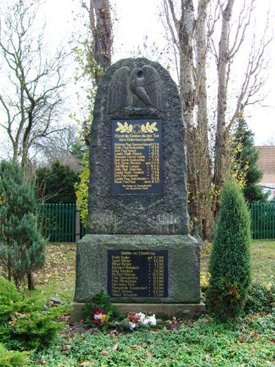 War Memorial Kleinkoschen