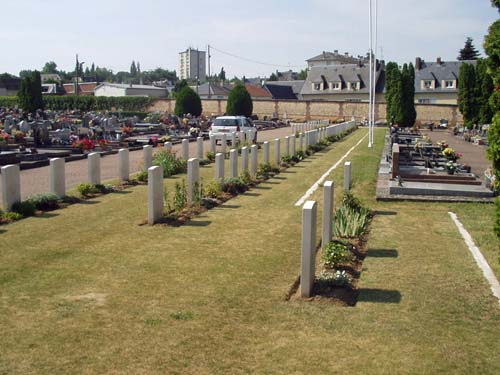 Commonwealth War Graves Évreux