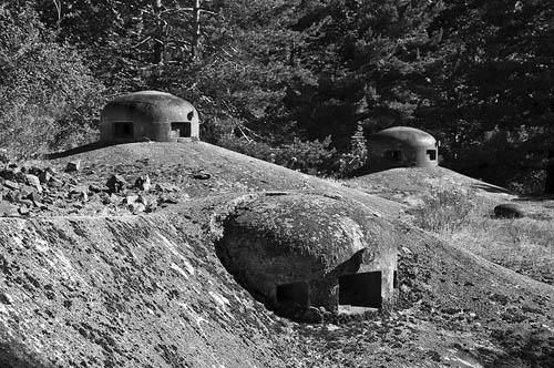Maginotlinie - Fort Flaut