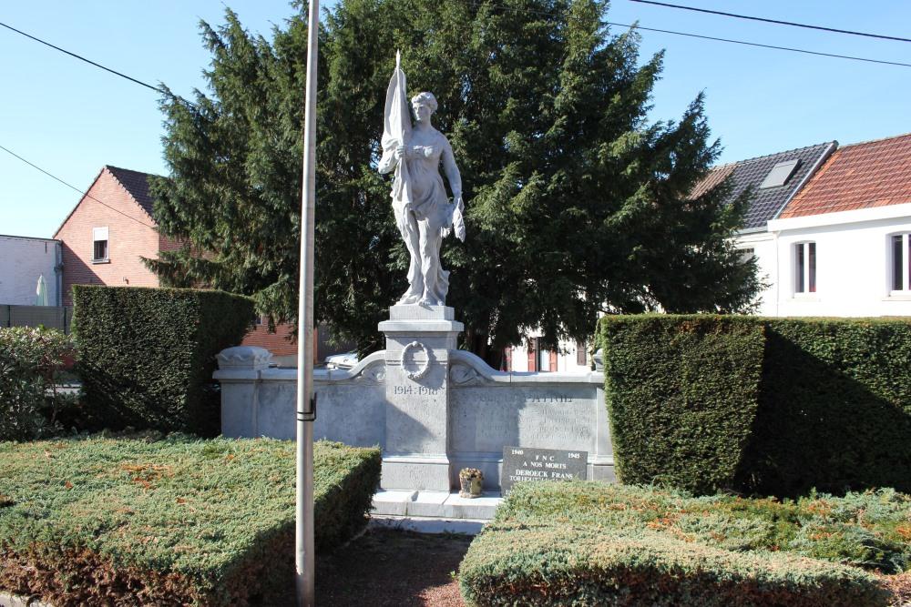 War Memorial Ecaussinnes-Lalaing