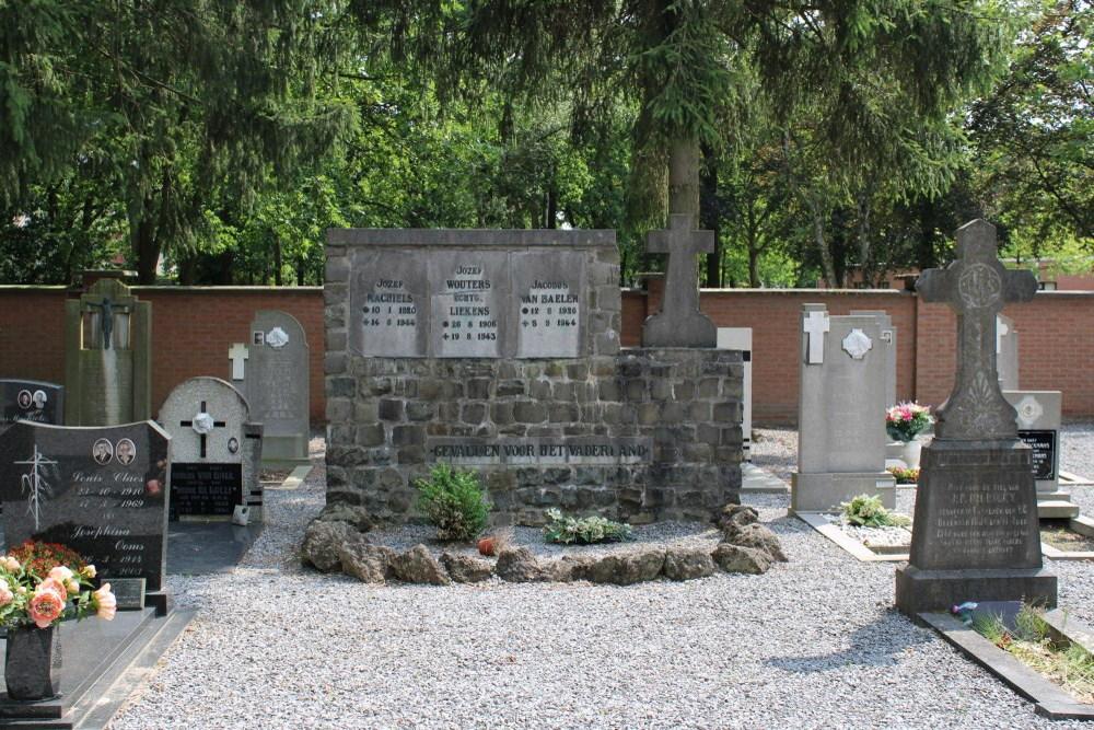 War Memorial Cemetery Kerkhoven Lommel