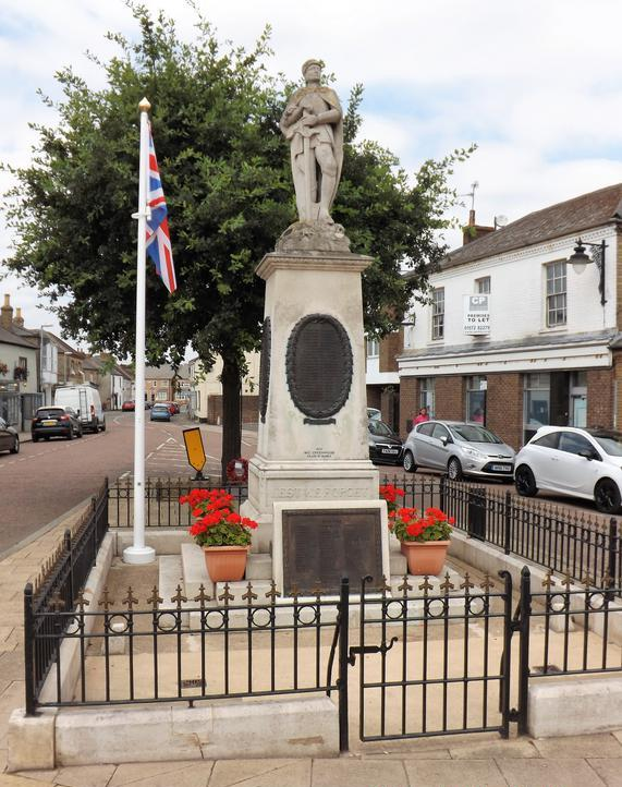Oorlogsmonument Whittlesey