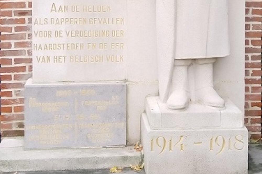 Monument Verdedigers Antwerpen