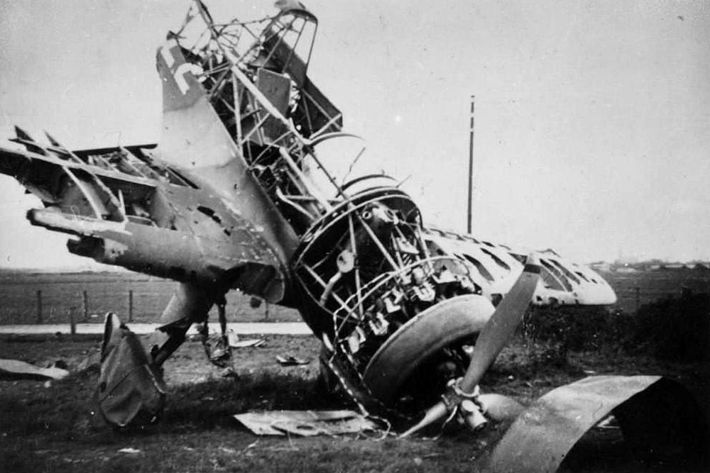 Crashlocatie Fokker D-XXI 0222