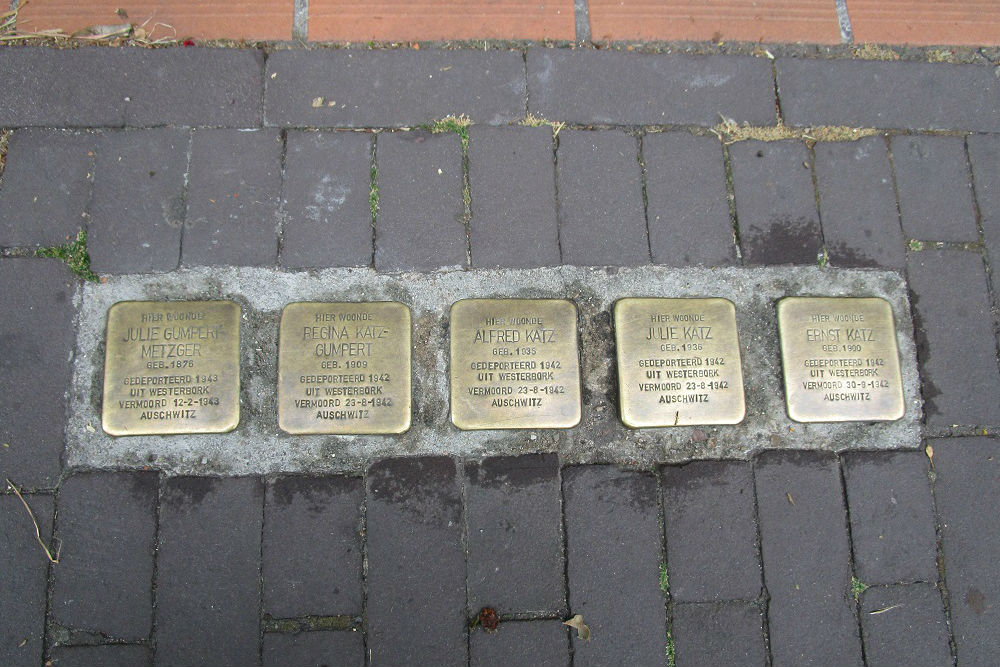 Stolpersteine Hoogstraat 9