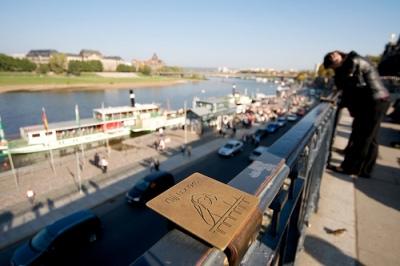 Kunstwerk Bombardement Dresden