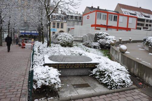 Memorial Former Synagogue Strasbourg