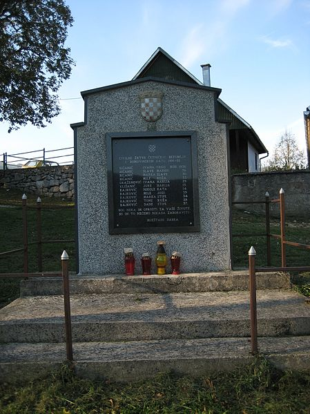 Memorial Fallen Croatian Defenders Dabar