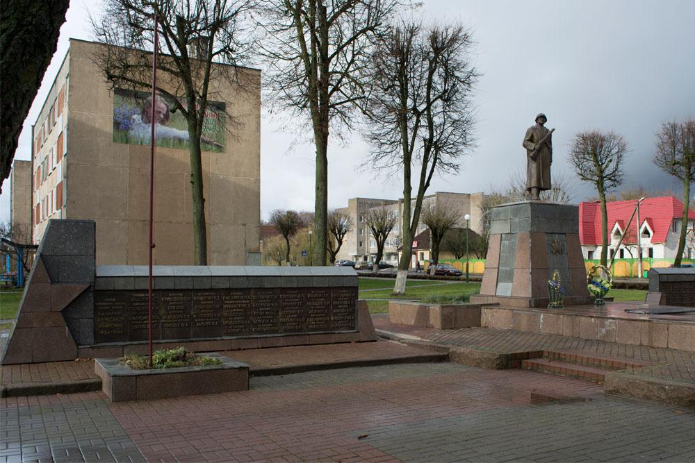 Massagraf Sovjet Soldaten Voranava