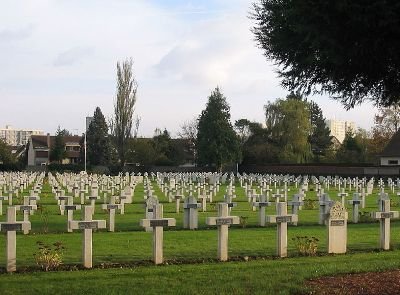 French-British War Cemetery Marissel