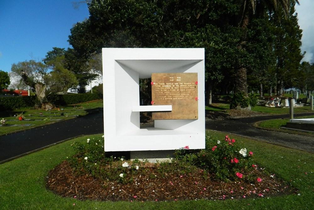 Auckland Provincial Memorial