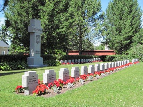 Finnish War Graves Ulvila