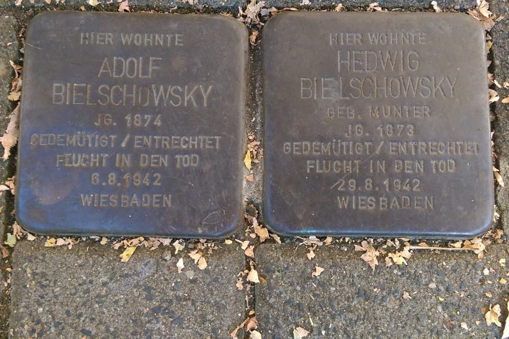 Stolpersteine Walkmühlstraße 89
