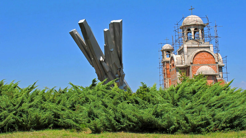 Monument Čačak Partizanen Detachement