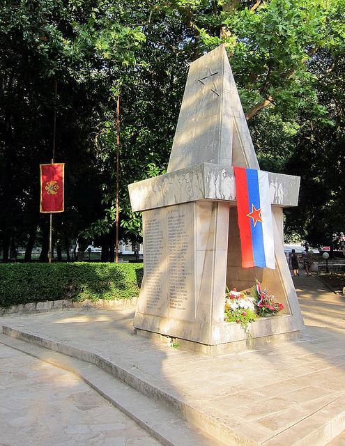 Monument Omgekomen Partizanen Risan