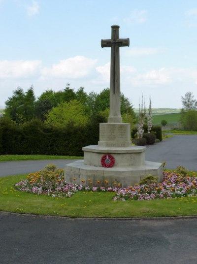 Memorial Buxton Cemetery Buxton Tracesofwar Com