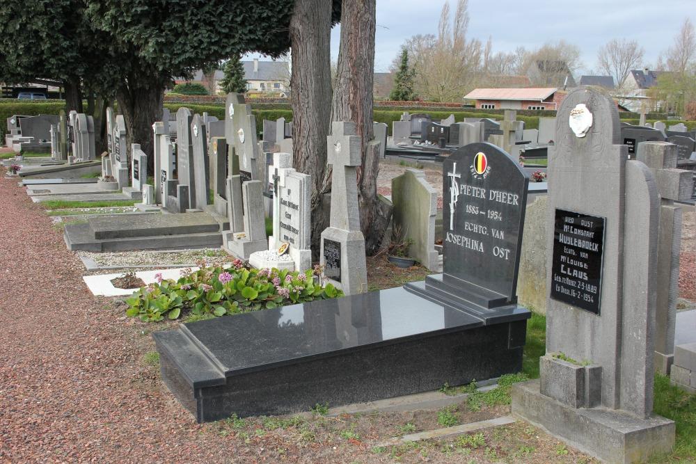 Veteran War Graves Moerzeke