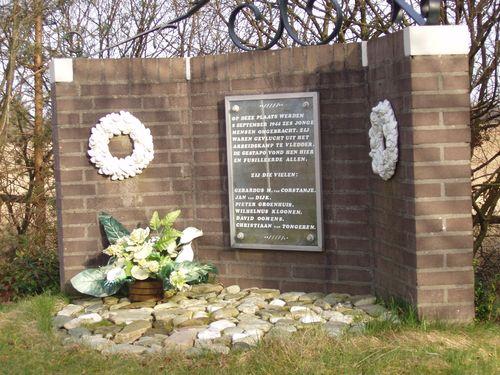 Monument Executies 8 September 1944 Wapserveld