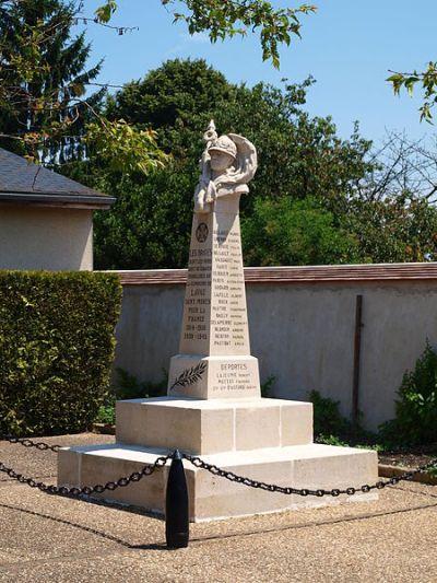 War Memorial Lavau