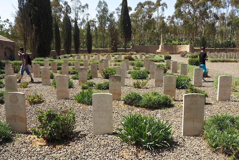 Italiaanse Oorlogsgraven CWGC Asmara