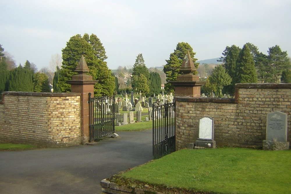 Commonwealth War Graves Galston Cemetery