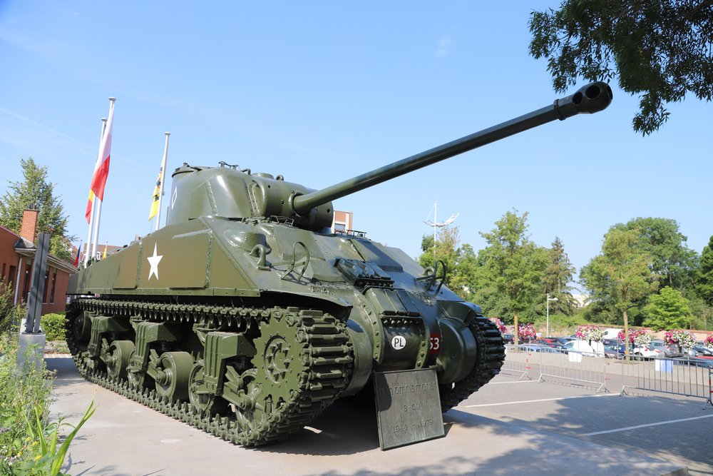 Sherman Firefly Tank Tielt - Tielt - TracesOfWar com