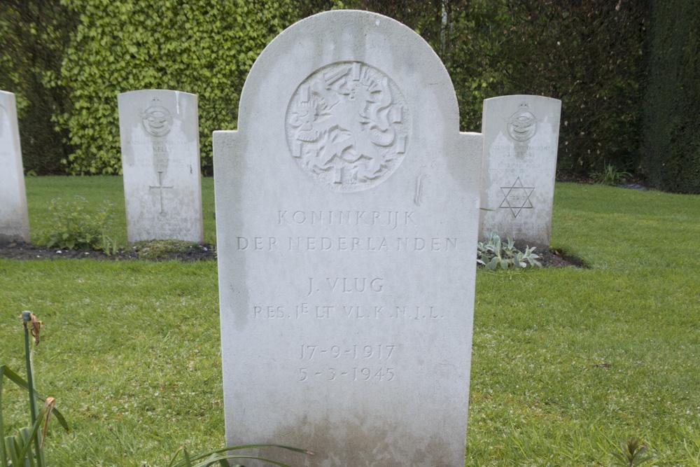 Nederlandse Oorlogsgraven Forest War Cemetery Reichswald