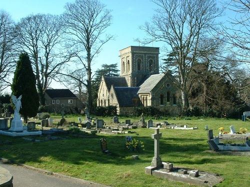 Oorlogsgraf van het Gemenebest St John the Baptist Churchyard