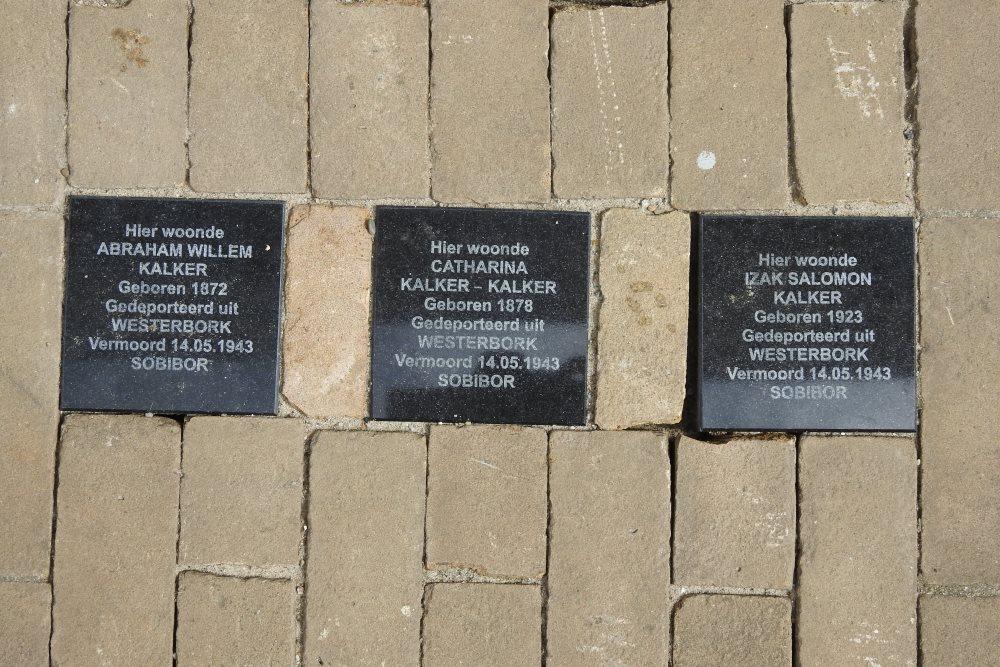 Remembrance Stones Kwekelstraat 26