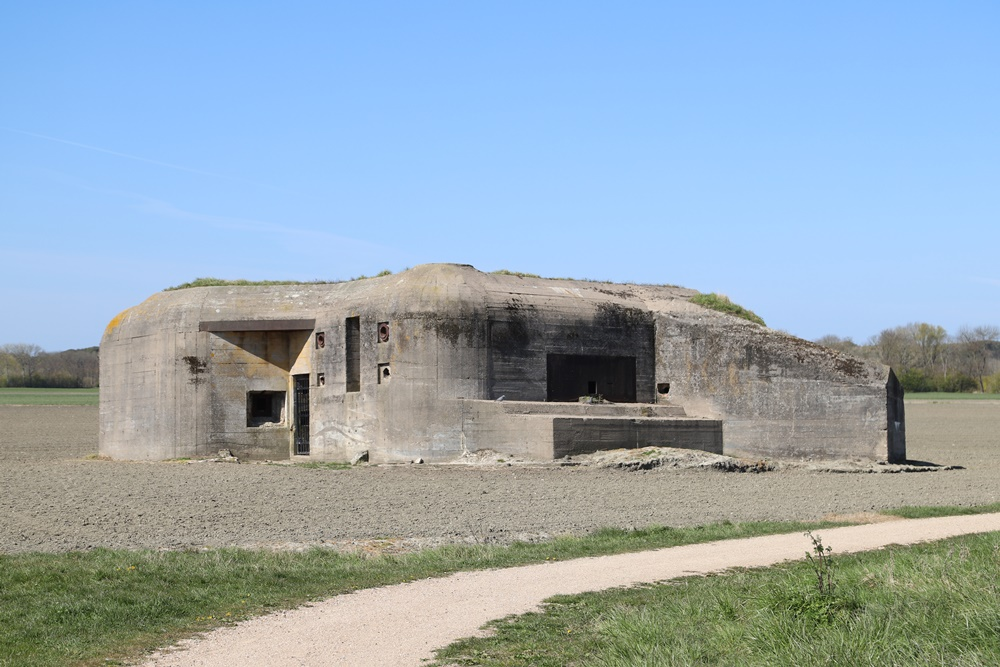 Landfront Vlissingen - Stützpunkt Kolberg - Bunker 4 type 623