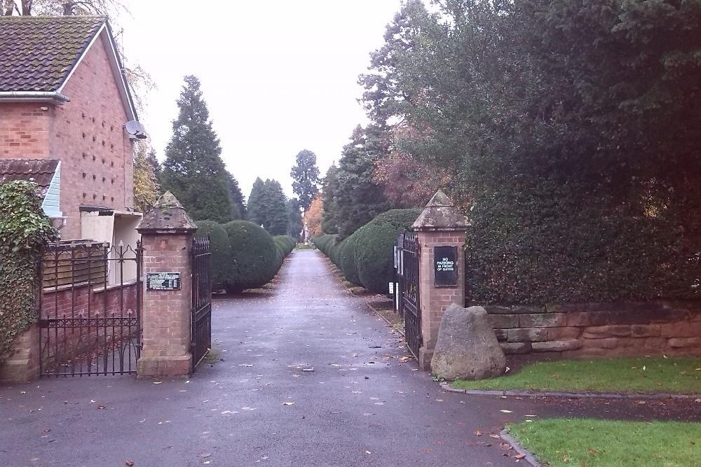 Oorlogsgraven van het Gemenebest Bromsgrove Cemetery