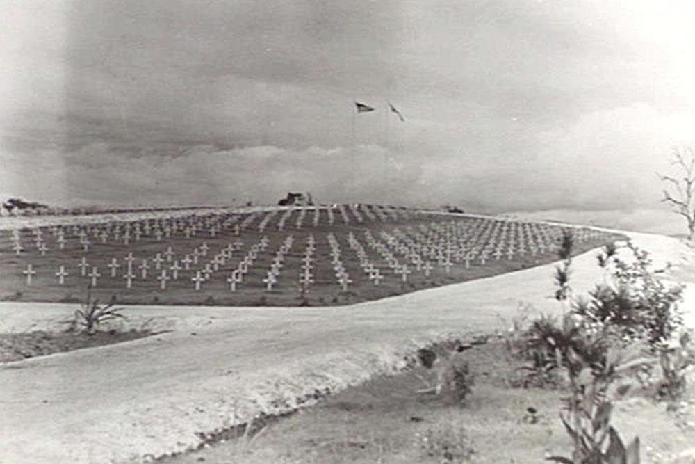 Former American War Cemetery Munda