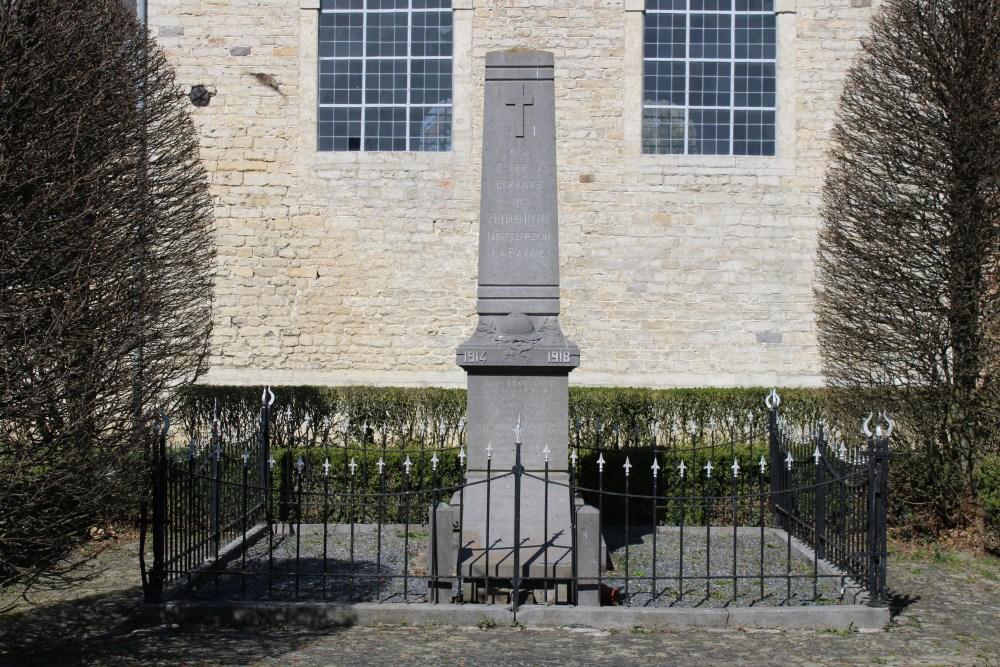 War Memorial Zétrud-Lumay