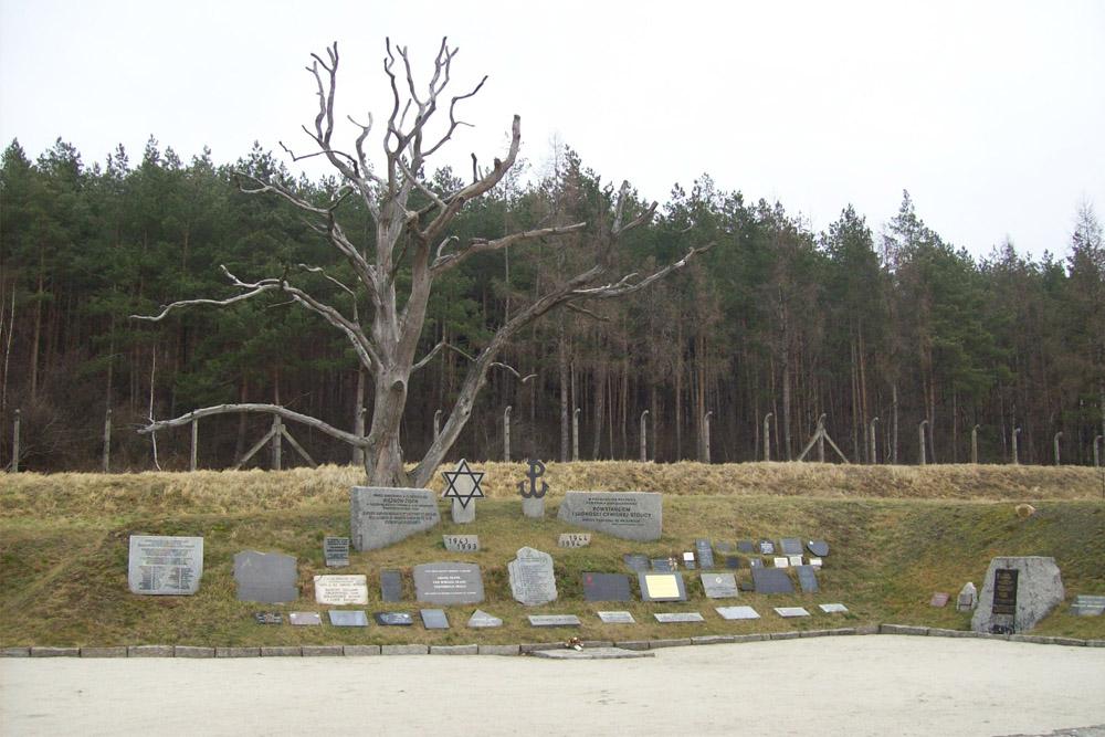 Muur van de Dood KZ Gross-Rosen