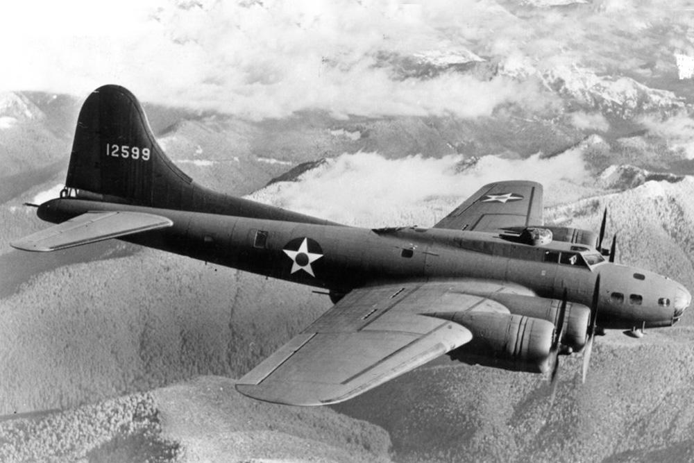Crash Site B-17E Flying Fortress # 41-9194