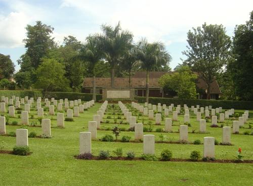 Commonwealth War Cemetery Jinja