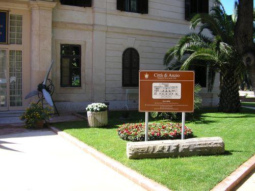 Anzio Beachhead Museum