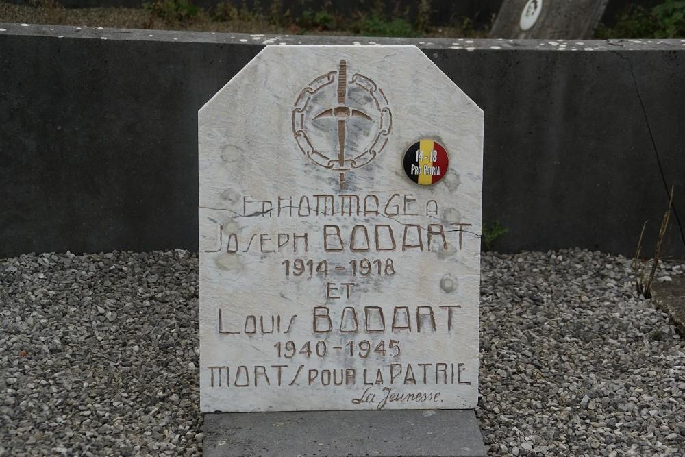 Belgian War Graves Burdinne